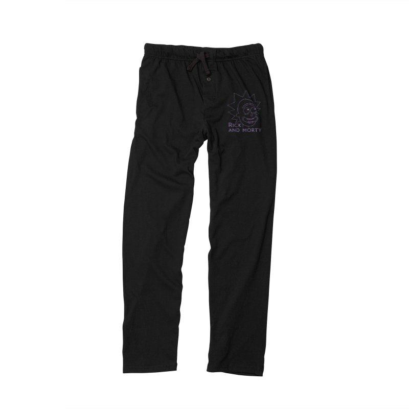 Rick Sanchez Portrait Men's Lounge Pants by Diardo's Design Shop