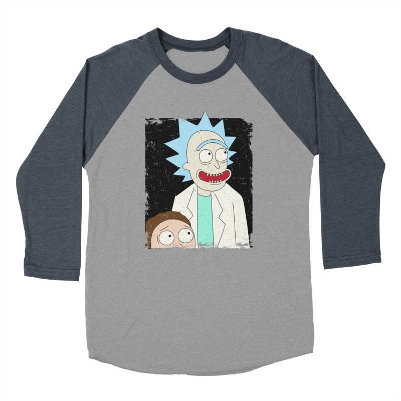 Rick and Morty Portrait Men's Longsleeve T-Shirt by Diardo's Design Shop