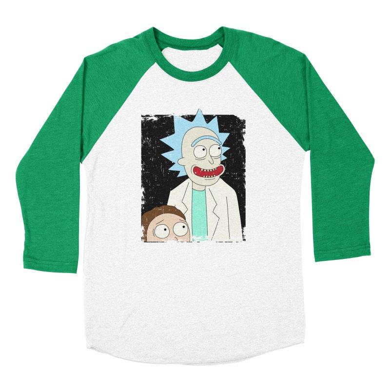 Rick and Morty Portrait Men's Longsleeve T-Shirt by Diardo's Design Shop