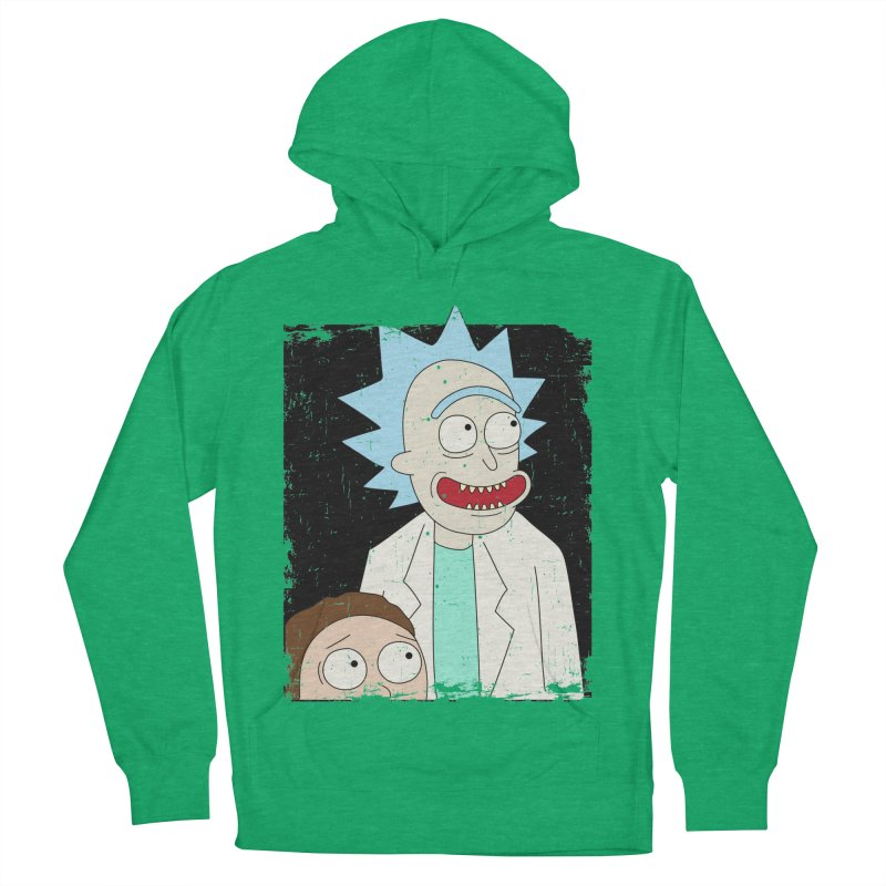 Rick and Morty Portrait Women's Pullover Hoody by Diardo's Design Shop