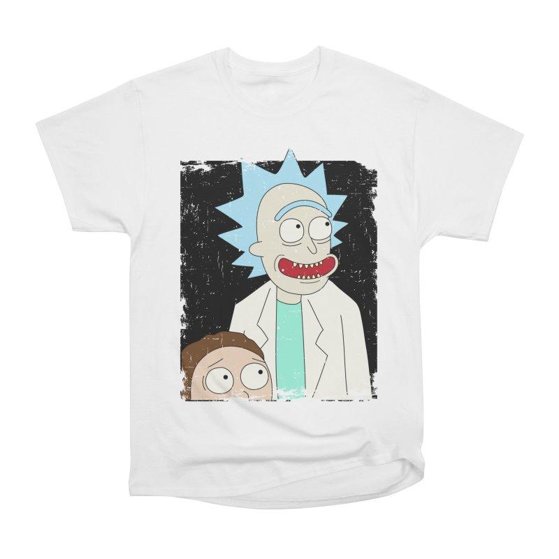 Rick and Morty Portrait Women's Classic Unisex T-Shirt by Diardo's Design Shop