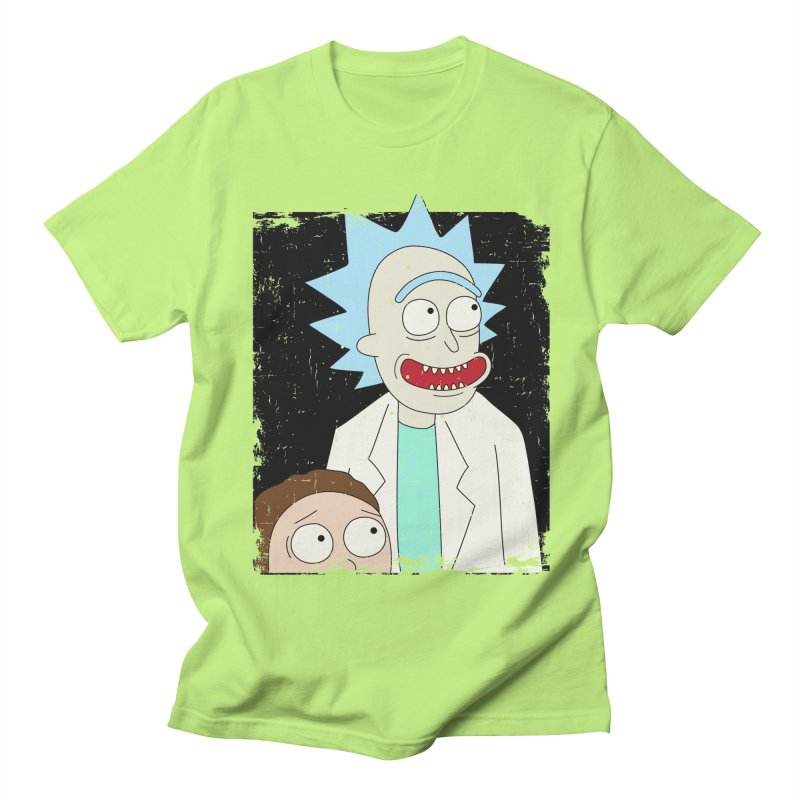 Rick and Morty Portrait Women's Unisex T-Shirt by Diardo's Design Shop