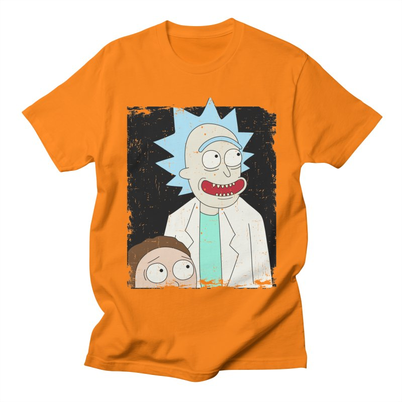 Rick and Morty Portrait Men's T-Shirt by Diardo's Design Shop