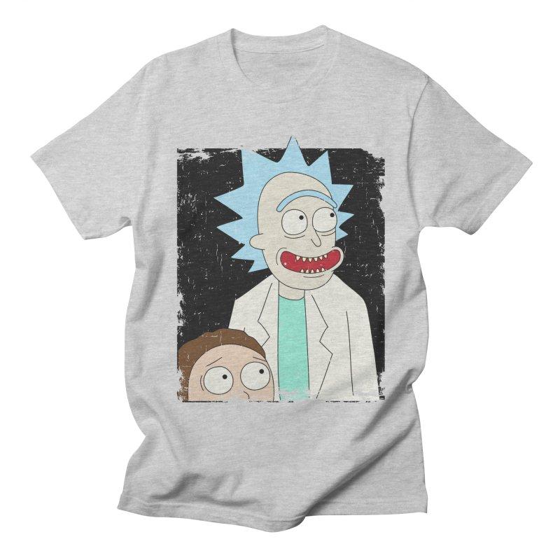 Rick and Morty Portrait Women's Regular Unisex T-Shirt by Diardo's Design Shop
