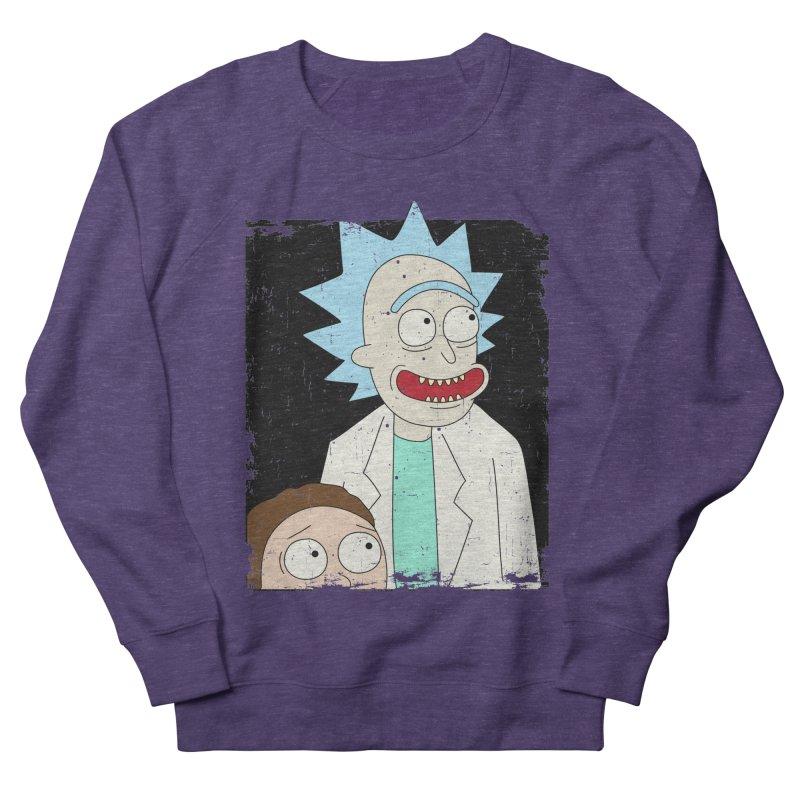 Rick and Morty Portrait Women's Sweatshirt by Diardo's Design Shop