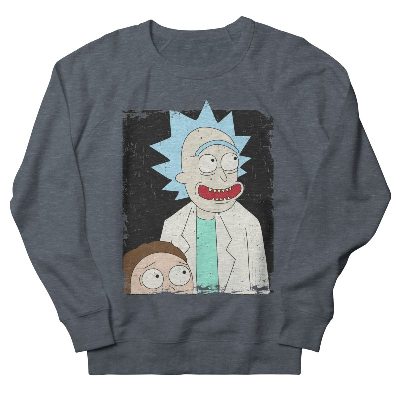 Rick and Morty Portrait Men's French Terry Sweatshirt by Diardo's Design Shop
