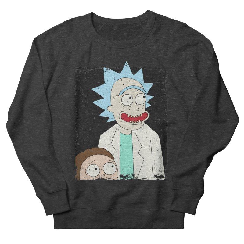 Rick and Morty Portrait Men's Sweatshirt by Diardo's Design Shop