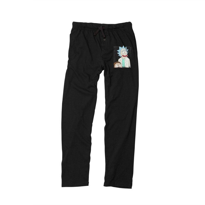 Rick and Morty Portrait Men's Lounge Pants by Diardo's Design Shop