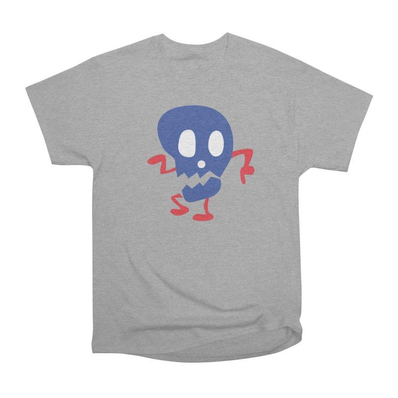 Danny Dancer in Men's Heavyweight T-Shirt Heather Graphite by Dicker Dandy