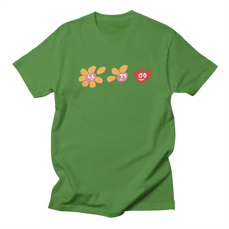 It is love in Men's Regular T-Shirt Clover by Dicker Dandy