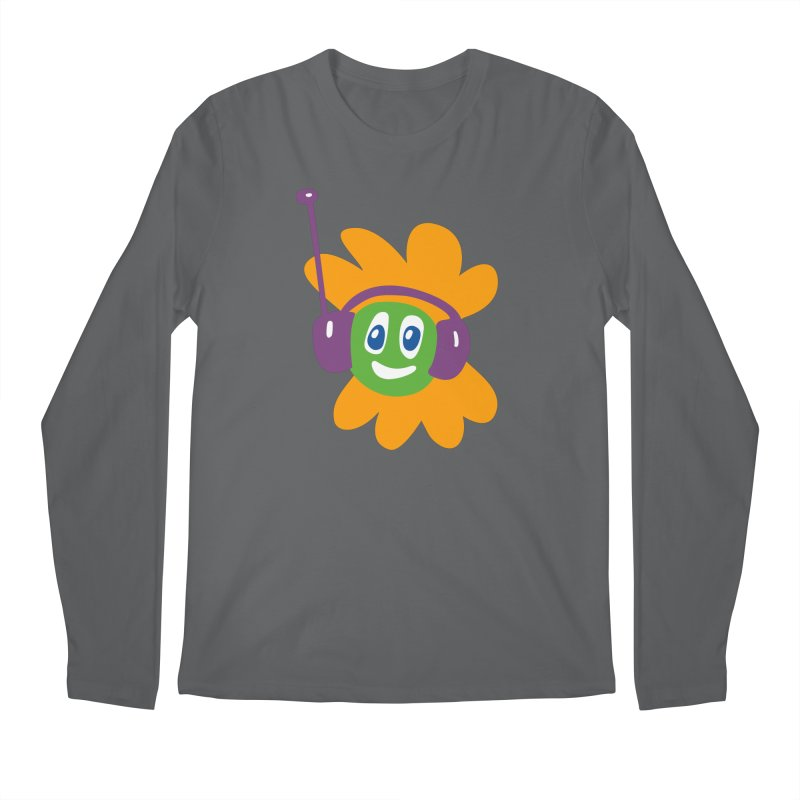 Groovy Flowerhead Men's Regular Longsleeve T-Shirt by Dicker Dandy