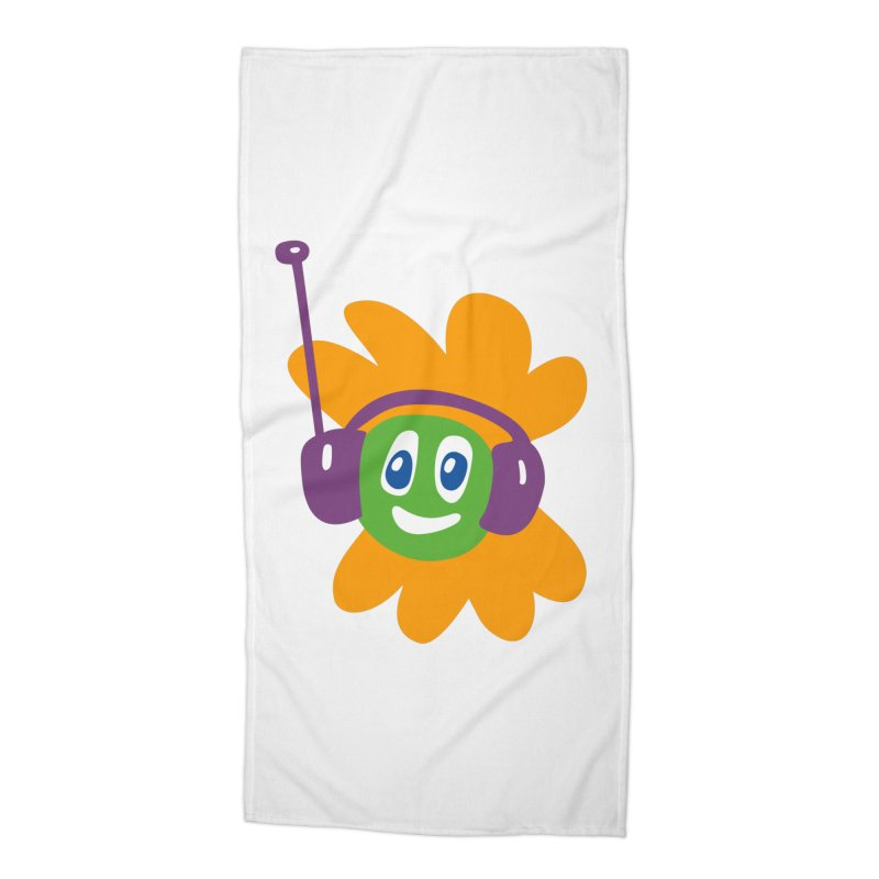 Groovy Flowerhead Accessories Beach Towel by Dicker Dandy