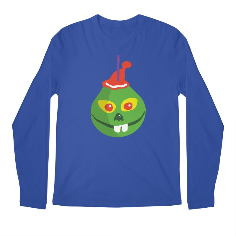 Grinch Men's Regular Longsleeve T-Shirt by Dicker Dandy