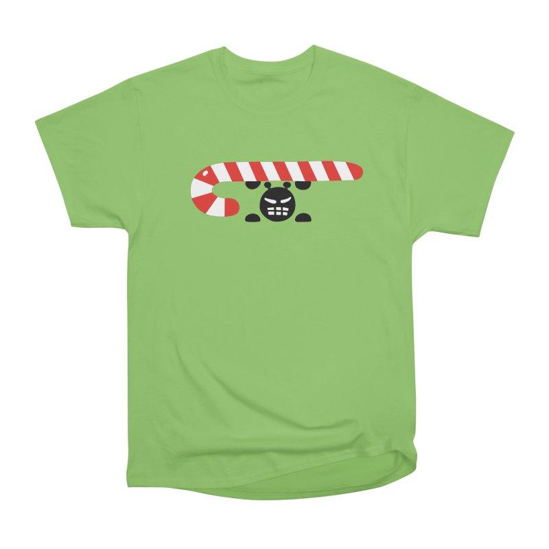 Sugar Ant in Men's Heavyweight T-Shirt Kiwi by Dicker Dandy