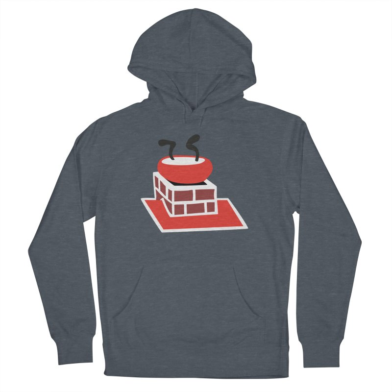 Chimney Men's French Terry Pullover Hoody by Dicker Dandy