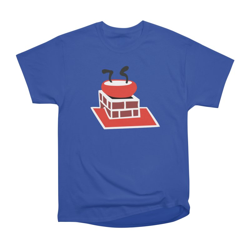 Chimney Women's Heavyweight Unisex T-Shirt by Dicker Dandy