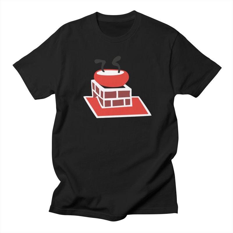 Chimney Men's Regular T-Shirt by Dicker Dandy