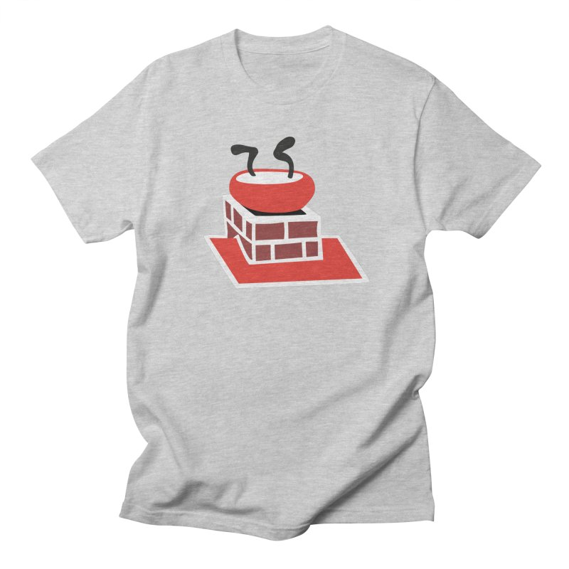 Chimney Men's Regular T-Shirt by Dicker Dandy