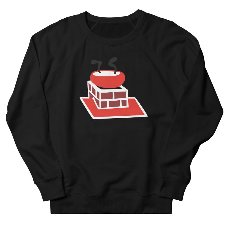 Chimney Men's French Terry Sweatshirt by Dicker Dandy