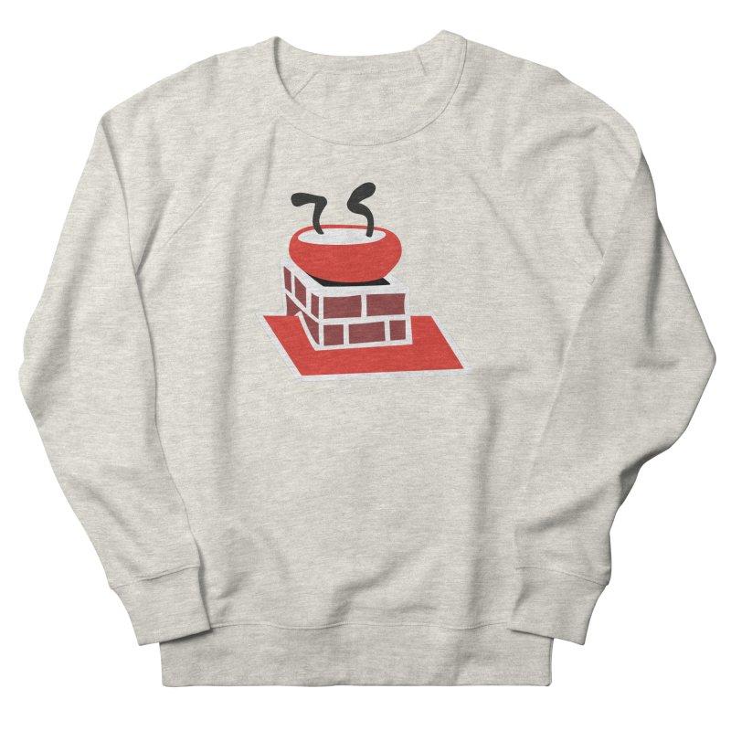 Chimney Men's French Terry Sweatshirt by Dicker Dandy