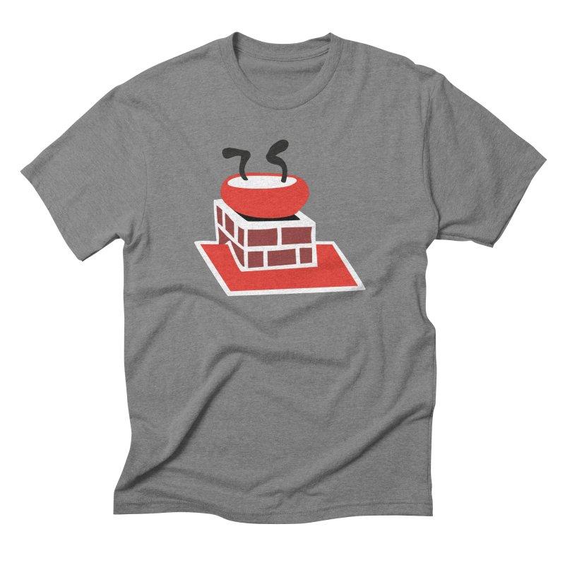 Chimney Men's Triblend T-Shirt by Dicker Dandy