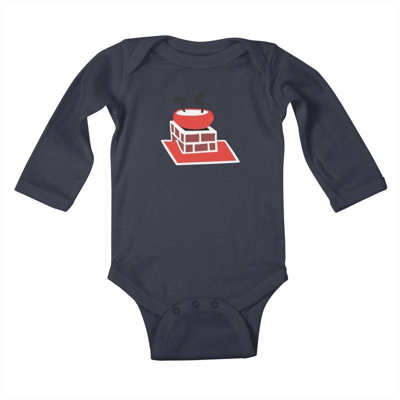 Chimney Kids Baby Longsleeve Bodysuit by Dicker Dandy