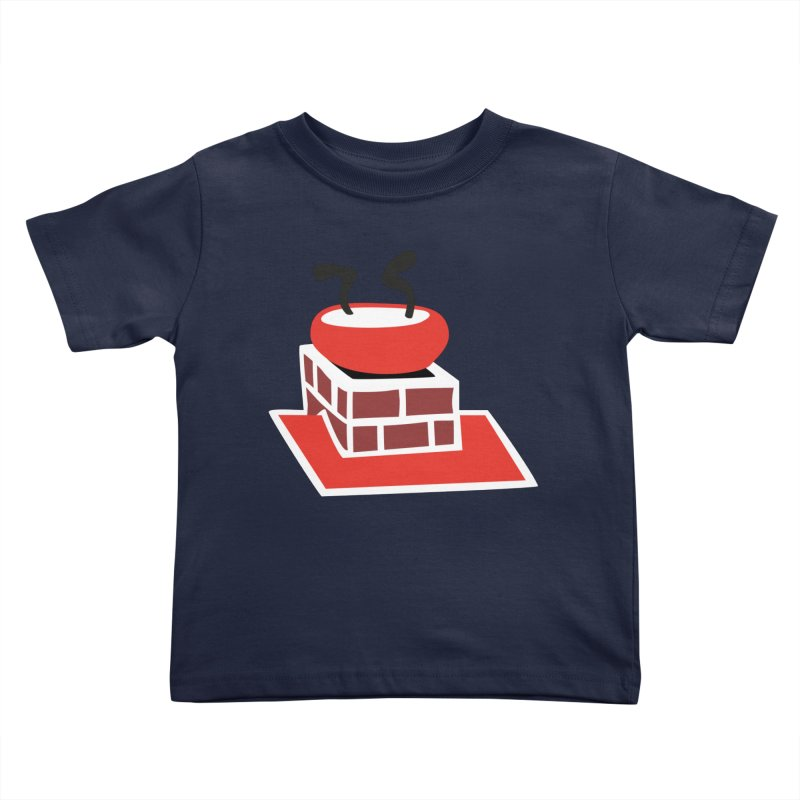 Chimney Kids Toddler T-Shirt by Dicker Dandy