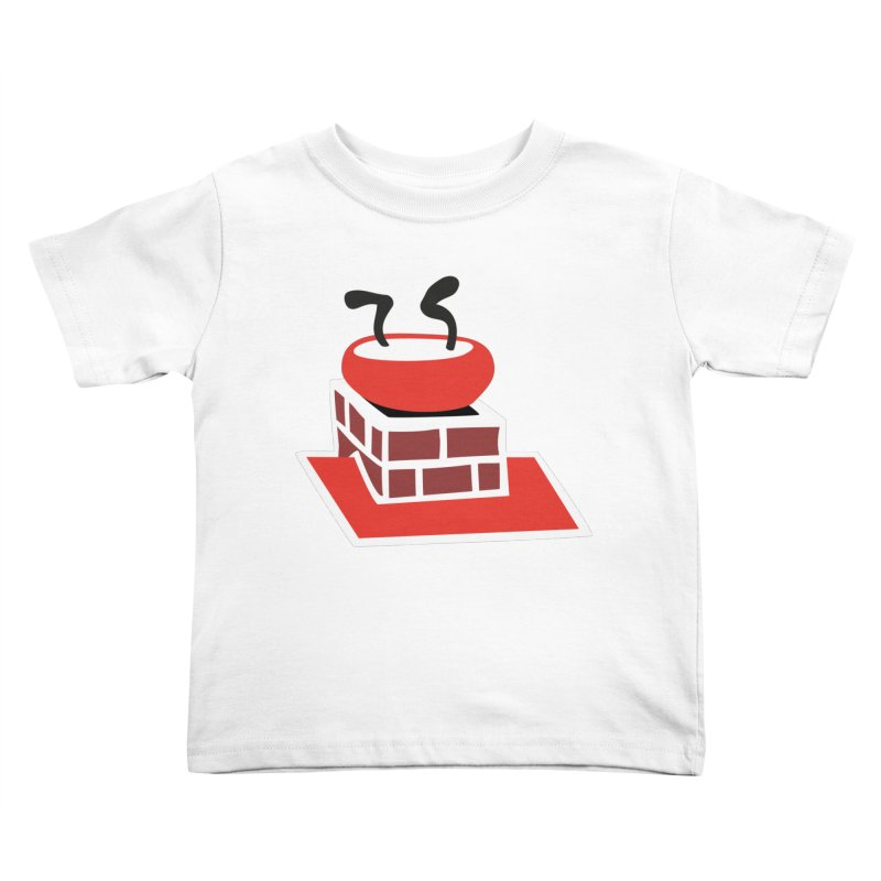 Chimney Kids Toddler T-Shirt by Dicker Dandy