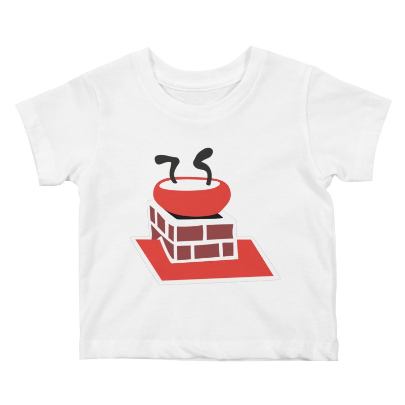 Chimney Kids Baby T-Shirt by Dicker Dandy