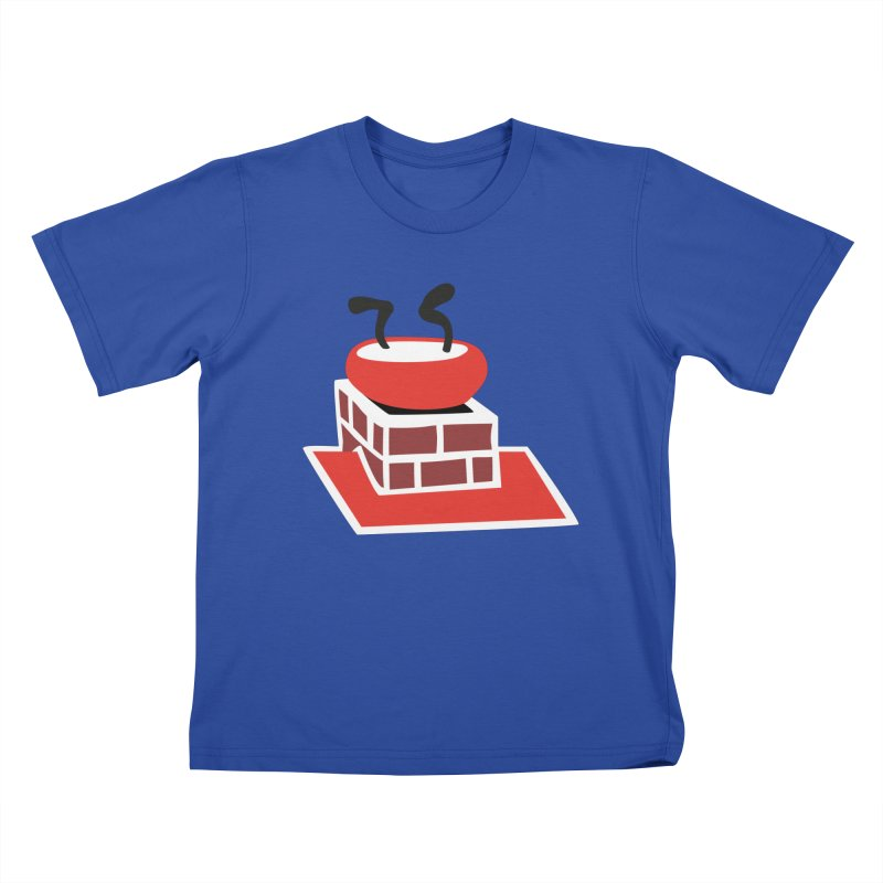 Chimney Kids T-Shirt by Dicker Dandy