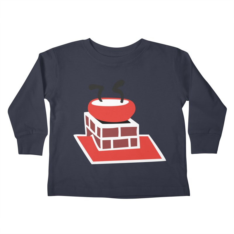 Chimney Kids Toddler Longsleeve T-Shirt by Dicker Dandy