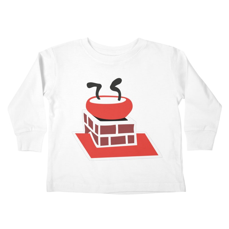 Chimney Kids Toddler Longsleeve T-Shirt by Dicker Dandy