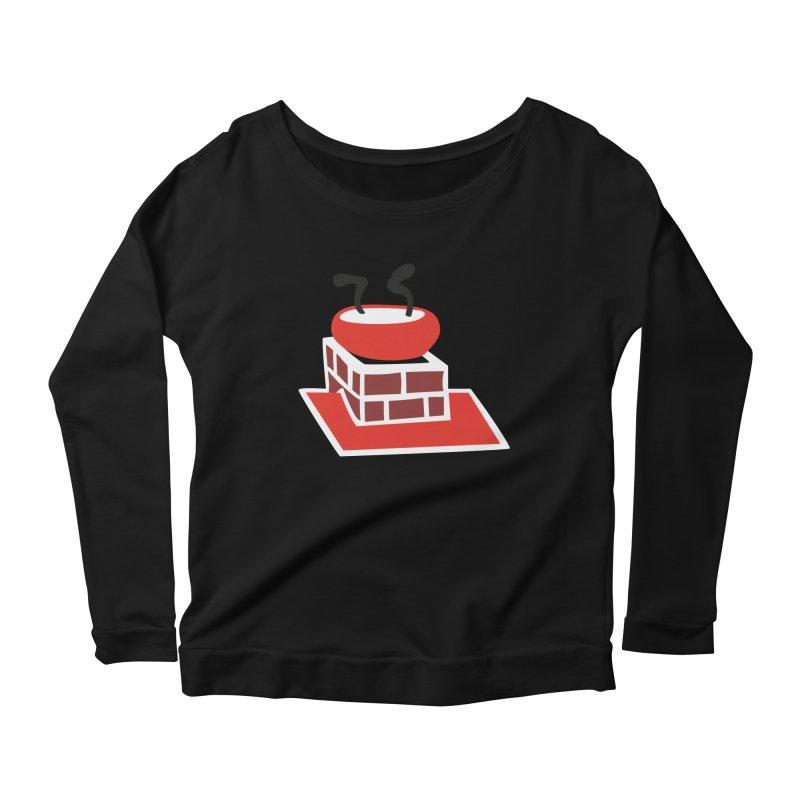 Chimney Women's Scoop Neck Longsleeve T-Shirt by Dicker Dandy