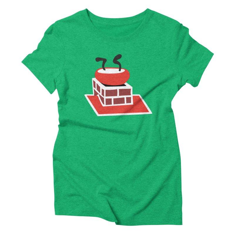Chimney Women's Triblend T-Shirt by Dicker Dandy