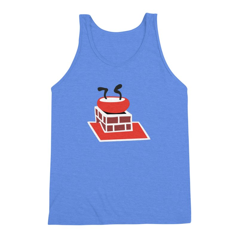 Chimney Men's Triblend Tank by Dicker Dandy