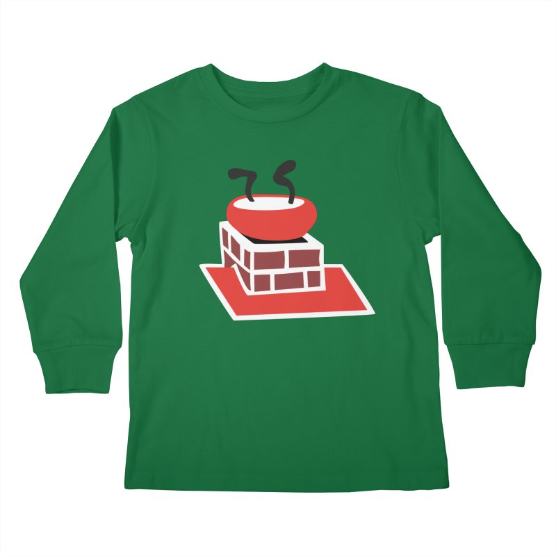 Chimney Kids Longsleeve T-Shirt by Dicker Dandy