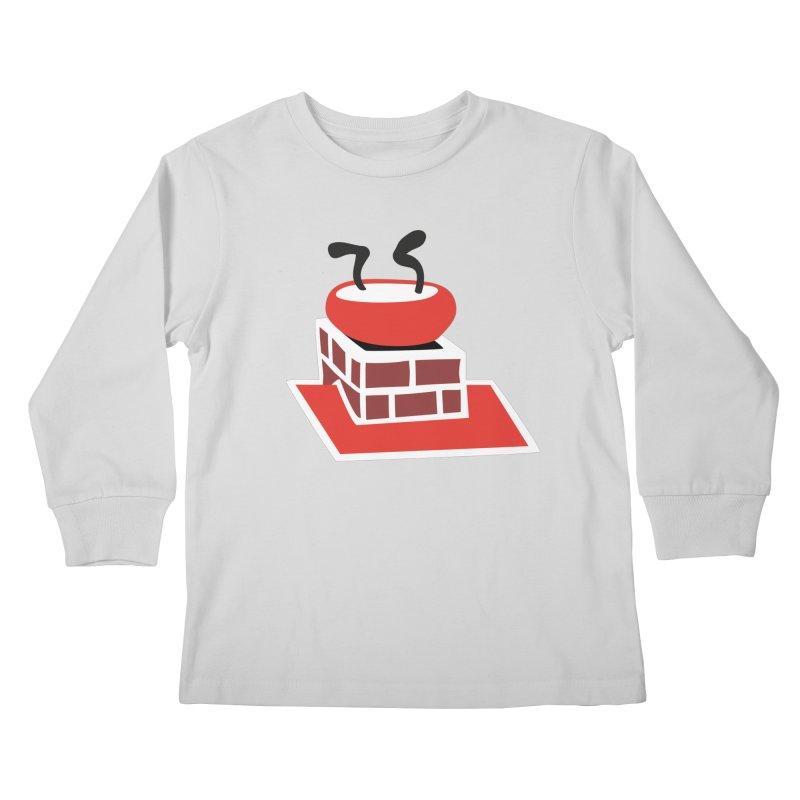 Chimney Kids Longsleeve T-Shirt by Dicker Dandy