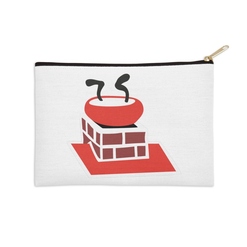 Chimney Accessories Zip Pouch by Dicker Dandy