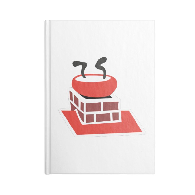 Chimney Accessories Notebook by Dicker Dandy