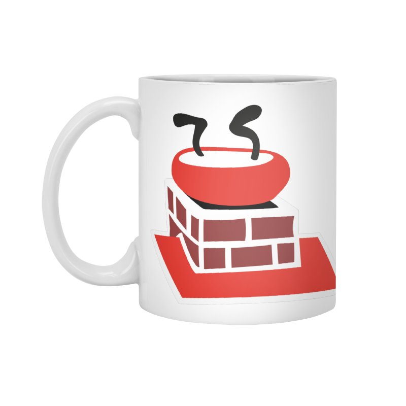 Chimney Accessories Mug by Dicker Dandy