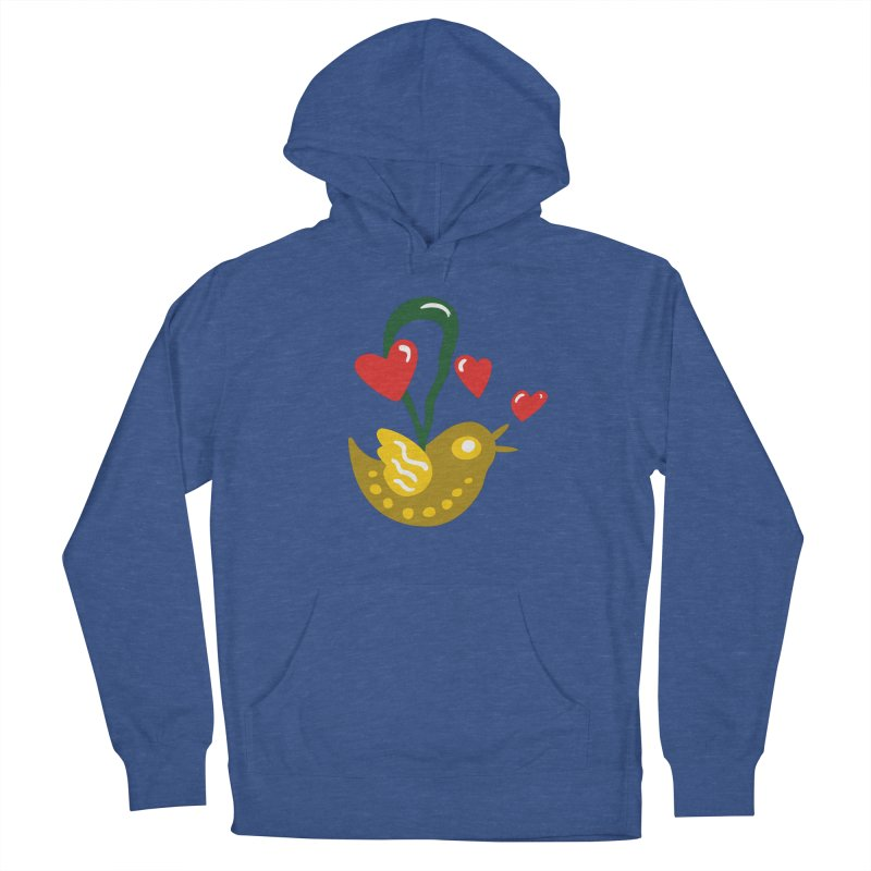Fake Bird Women's French Terry Pullover Hoody by Dicker Dandy