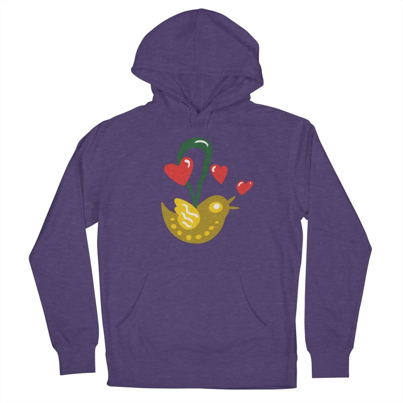 Fake Bird Men's French Terry Pullover Hoody by Dicker Dandy