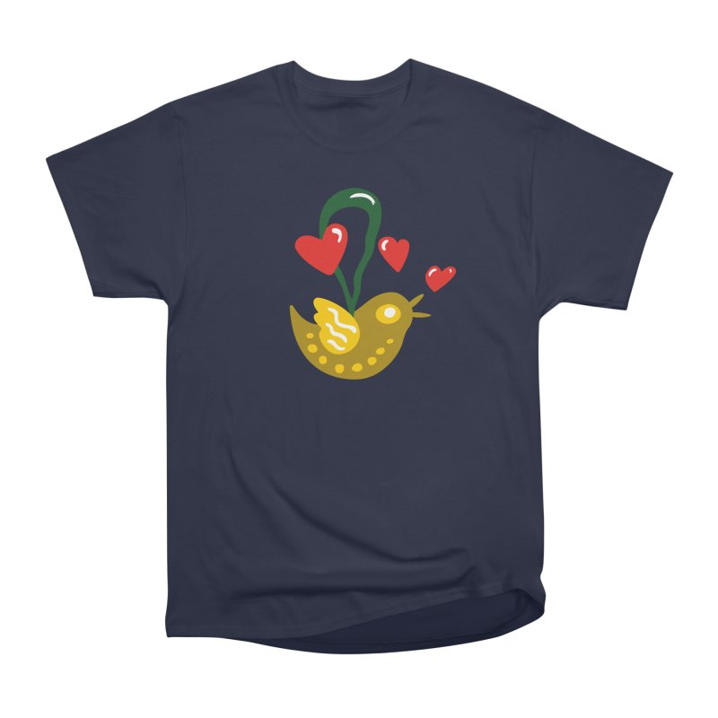 Fake Bird Men's Classic T-Shirt by Dicker Dandy