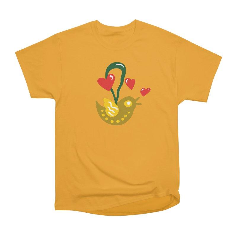 Fake Bird Women's Classic Unisex T-Shirt by Dicker Dandy