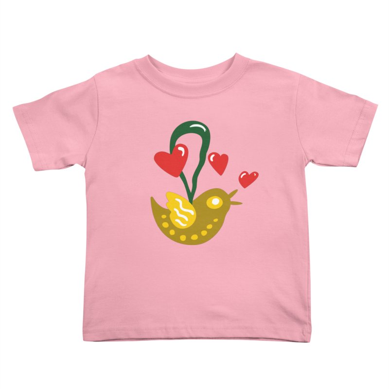 Fake Bird Kids Toddler T-Shirt by Dicker Dandy