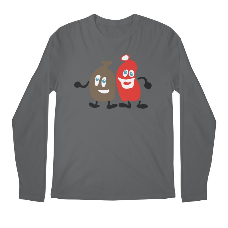 Xmas Buddies Men's Longsleeve T-Shirt by Dicker Dandy