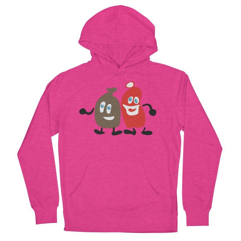 Xmas Buddies Men's Pullover Hoody by Dicker Dandy