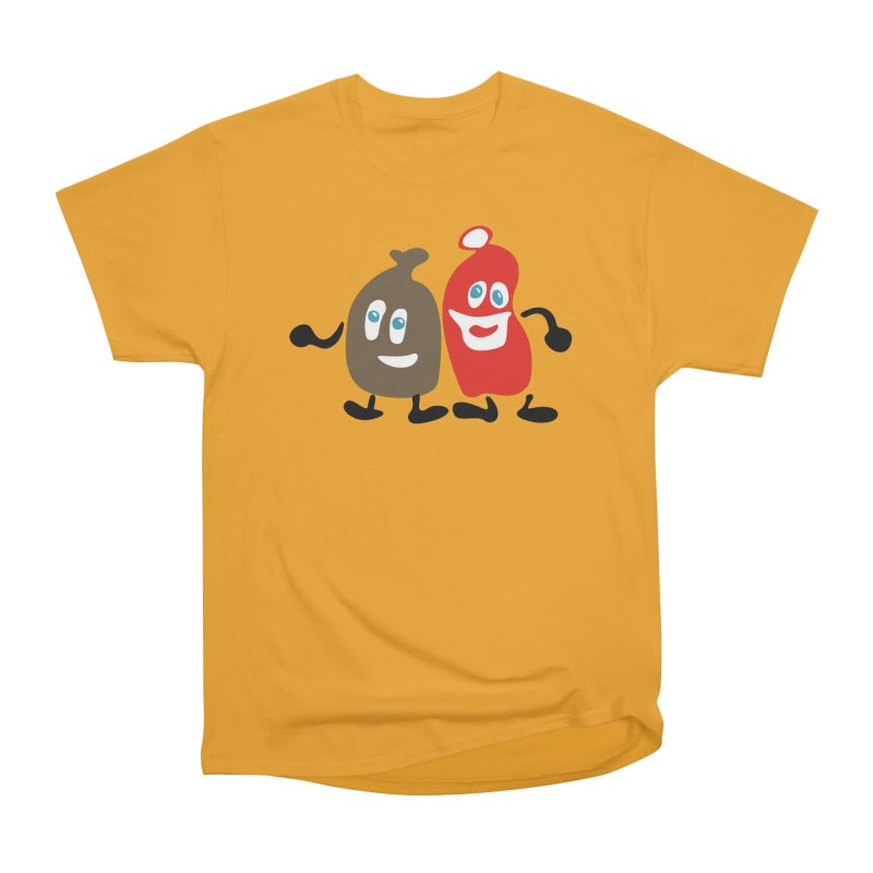 Xmas Buddies Men's Classic T-Shirt by Dicker Dandy