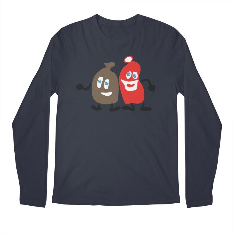 Xmas Buddies Men's Longsleeve T-Shirt by Dicker Dandy