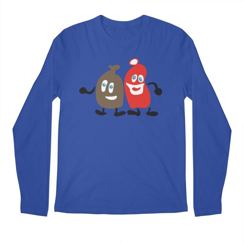 Xmas Buddies Men's Regular Longsleeve T-Shirt by Dicker Dandy